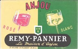 ANJOU - REMY-PANNIER St Hilaire St-FLORENT - Buvards, Protège-cahiers Illustrés