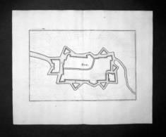 Rue Somme Frankreich France Kupferstich Engraving Gravure Merian - Prints & Engravings