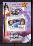 BURUNDI 2012 ESPACE SOVIETIQUE  YVERT N°NEUF MNH** - Space