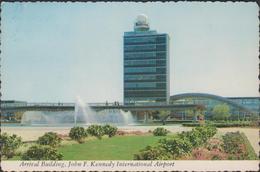 Grote Kaart Airport - Flughafen - John F Kennedy Aéroport Flughaven Aeropuerto CPA Grand Format - Aéroports