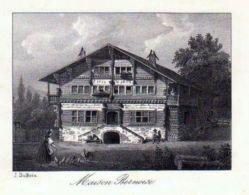 Bern Berne Schweiz Suisse Lithographie - Stiche & Gravuren