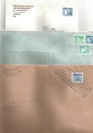 ALLEMAGNE DDR LOTS DE LETTRES, CARTES ET ENTIERS. - Lots & Kiloware (mixtures) - Max. 999 Stamps