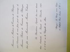 Robert De TESSIERES De BLANZAC Et Martine VOLLANT/Chapelle Des Méas/Pierrelatte-Cubjac-Londres//1975    FPM11 - Wedding