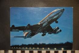 CP,  TRANSPORTS, BOING 707 B INTERCONTINENTAL DE LA TWA - 1946-....: Moderne