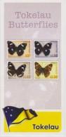 Tokelau Brochure 2013 Butterflies - Blue Moon (Hypolimnas Bolina Pallescens) - Common Crow (Euploea Lewinii Bourkei) - Tokelau