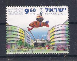 Israel 2014 Palmer Gate, Haifa (a3p12) - Oblitérés (sans Tabs)