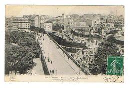 CPA 75 PARIS 18 Eme Panorama Du Pont Caulaincourt Le Cimetiere Montmartre - Distretto: 18