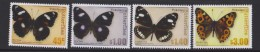 Tokelau Mi 437-440 Butterflies - Blue Moon (Hypolimnas Bolina Pallescens) - Common Crow (Euploea Lewinii Bourkei) 2013 - Tokelau