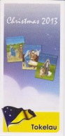 Tokelau Brochure 2013 Christmas - Road To Bethlehem - Nativity - Shepherds - Wise Men - Block - Tokelau