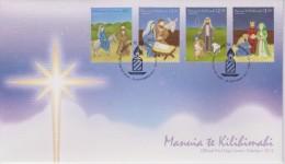 Tokelau FDC Mi 441-444 Christmas - Road To Bethlehem - Nativity - Shepherds - Wise Men - 2013 - Tokelau