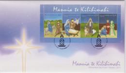 Tokelau FDC Block Mi 52 - Mi 441-444 Christmas - Road To Bethlehem - Nativity - Shepherds - Wise Men - 2013 - Tokelau