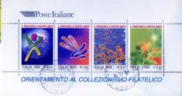 """PIA  -  ITALIE  -  1999  :  """"Il Francobollo Nostro Amico - Foglietto  -     (SAS  Bf 23 ) - Blocchi & Foglietti"""