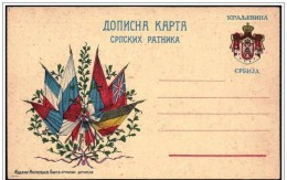 Franchigia Militare, Military Franchise, Franchise Militaire. Bandiere, Flags, Drapeaux, 2 Scan - Covers