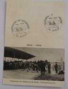 CENTENAIRE DU VELODROME DE SENLIS   1896  -1996 - Ciclismo