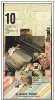 Canada: Libretto, Carnet - Tappeti, Carpets, Tapis, Ricamo, Embroidery, Broderie, 4 Scan - Tessili