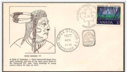 Canada: Capo Indiano, Indian Chief, Chef Indien - American Indians