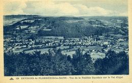 Environs De PLOMBIERES-les-BAINS Vue De La Feuillée Dorothée Sur Le Val D'ajol (C2800) - Plombieres Les Bains
