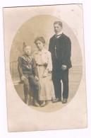 D 63-  TALLENDE  -  Carte  Photo - GUILLAUME  BANY Avec Ses Parents - K 67 - Autres Communes