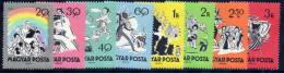 HUNGARY 1959 Fairy Tales Set Of 8 MNH / **.  Michel; 1642-49 - Hungary