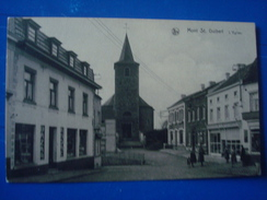 MONT ST GUIBERT : L'église Et Le Bazar André - Mont-Saint-Guibert