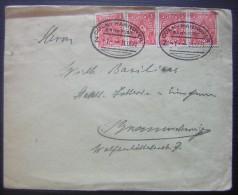 1922 Deutsches Reich Cöln Hannover Bahnpost - Lettres & Documents