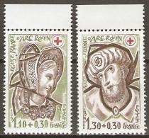 FRANCE   -  1979 .  Y&T N°  2070 / 2071 ** .  CROIX-ROUGE. - France
