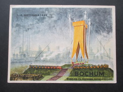 AK / Künstlerkarte Bochum Stadt Des 73. Deutschen Katholikentages. 1. - 4. September. 1949 Aquarell Kurt Hubert Vieth. - Christentum