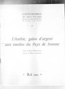 L´Automobile Au Pays Picard.L'Authie,galon D'argent Aux Confins Du Pays De Somme.René Normand.dessins:Charles Samson - Picardie - Nord-Pas-de-Calais
