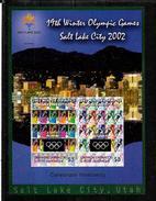 Grenada & Petite Martinique BF ND/imperf/B JO H02 ** - Winter 2002: Salt Lake City