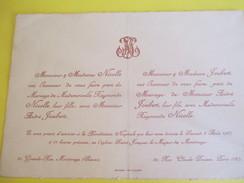 Raymonde NICOLLE Et André JOUBERT/Eglise Saint Jacques Le Majeur De Montrouge/1927   FPM28 - Wedding