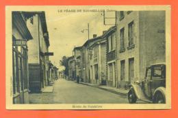 """CPA 38  Le Péage De Rousillon """" Route De Gondrieu """" - Roussillon"""