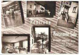 C9, COLLEZIONE, CARTOLINA, POSTCARD, HOTEL, RISTORANTI, PIEMONTE, VERBANO, CANNERO RIVIERA - Hotels & Restaurants