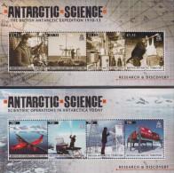 Antarctic.British Anrarctic Territory.2011.2 Sheet.8v.MNH.22235 - Brits Antarctisch Territorium  (BAT)