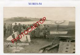XURES-escadrille SPA 68-Avion Francais-CARTE PHOTO Allemande-Guerre 14-18-1 WK-Aviation-FRANCE-54-Militaria-Feldpost- - Other Municipalities