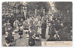 CPA Anvers Hoogstraeten Belgique Belgie Piechtige Processie Van Het Heilig Bloed éditeur Berchem - Hoogstraten