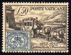 1952 - Vaticano - Sc. 155 - MNH - MO-190 - Vaticano (Ciudad Del)