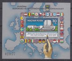 Hungary 1985 KSZE/OSCE M/s ** Mnh  (33513A) - Europese Gedachte
