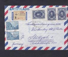 Recommandé Argentine Registred Vers Stuttgart Allemagne - Argentine