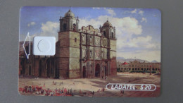Mexico - Telmex Ladatl Plus - 1996- 20 $ - Dummy - Tar:S032 - Look Scans - Mexico