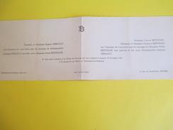 Suzanne PERRAULT Et Pierre BERTHOME,/Eglise De Chênehutte-les-Tuffeaux, Angers /1949   FPM31 - Wedding