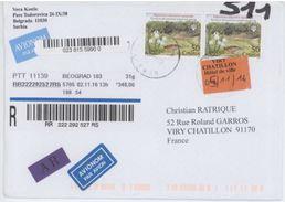 Sebie Muguet  On Registered Letter - Plants