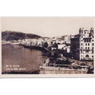 CUTTPA4749-LFTD8076.Tarjeta Postal De CEUTA.,Edificios,arboles,may Y CALLE DE PABLO IGLESIAS  En  CEUTA - Ceuta