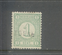 Nvph 31 Met Langstempel Cortgene - 1852-1890 (Guillaume III)