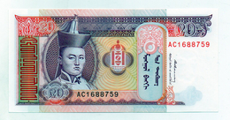 Mongolia - Banconota Da 20 Tugrik - Nuova -  (FDC1553) - Mongolia