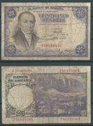 ESPAGNE SPANIEN SPAIN ESPAÑA 1946 25 FEBRERO 25 PTAS ESTADO ESPAÑOL - [ 3] 1936-1975 : Regency Of Franco