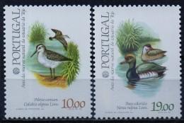 """PIA  -  PORTUGAL - 1982  : """"PhilexFrance 82""""  Uccelli Della Riserva Naturale Dell´ Estuario Del Tago   -  (Yv  1548-51) - Uccelli"""