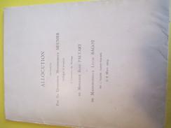 Fascicule D'Allocution/Monseigneur MEUNIER,Eveque D'Evreux/Mariage René PALYART-Lucie BAGOT/Saint Taurin/1904  FPM36 - Wedding