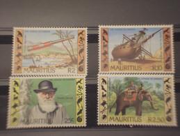 MAURITIUS - 1982 DARWIN  4 VALORI - NUOVI (++) - Mauritius (1968-...)