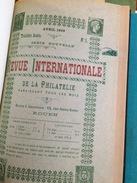 REVUE INTERNATIONALE 1899 DE MAI A DECEMBRE RELIE - Philatelie Und Postgeschichte