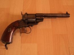 LEFAUCHEUX 1854  Premier Type,petit N°,à Restaurer (lire Infos!) - Armi Da Collezione